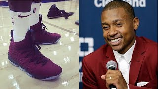 Isaiah Thomas Tried to JACK a Pair of LeBron James