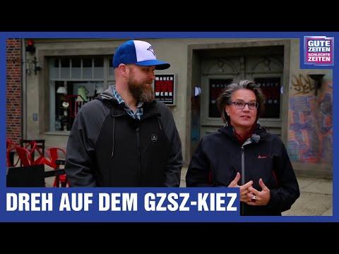 GZSZ Interview: Petra Kolle und Damian Lott auf dem GZSZ-Kiez