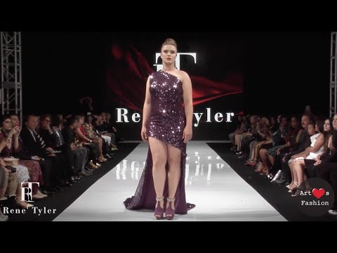 Rene Tyler Runway Show LAFW - Plus Size Fashion and Style