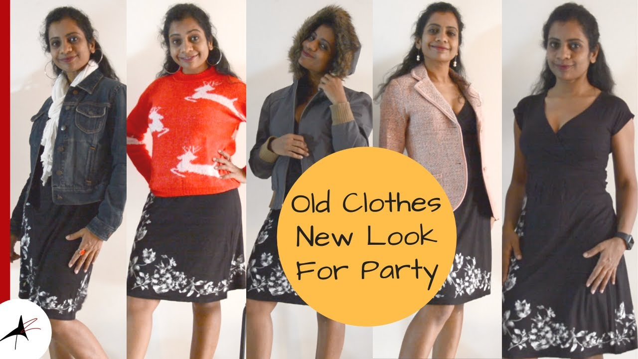 One Dress Different Outfit Ideas | Wear One Dress In 5 Different Ways