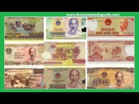 Exchange Rates Of The Vietnamese Dong