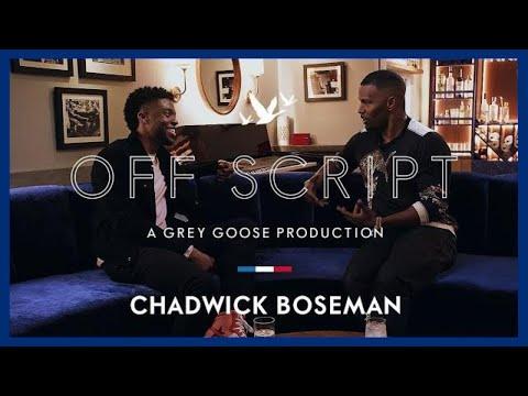 OFF SCRIPT a Grey Goose Production   Jamie Foxx & Chadwick Boseman