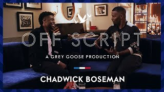 OFF SCRIPT a Grey Goose Production | Jamie Foxx & Chadwick Boseman