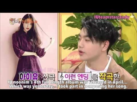 [ENG SUB] 170504 Yoo Hee Yeol And Sam Kim Mentioned IU @ Happy Together