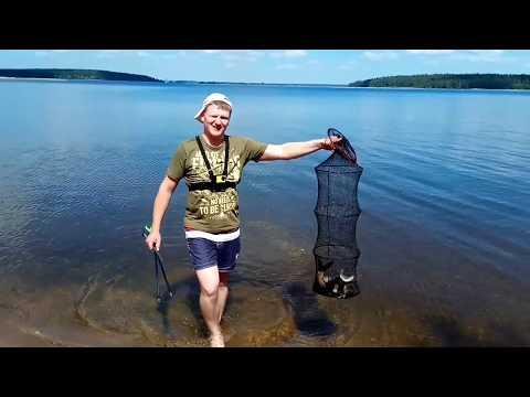 Отличная рыбалка на озере Селигер в 2019 году.
