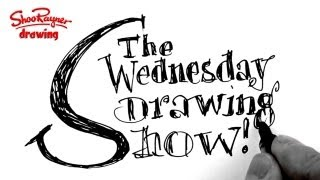 The Wednesday Drawing Show - Tracing is good! - The Wednesday Drawing Show 18 December 2012