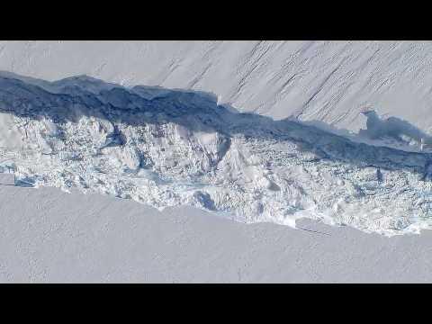 NASA | Operation IceBridge Discovers Massive Crack in Ice Shelf