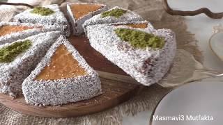 Yapımı Kolay Harika Sunum-SOSLU DİLİM PASTA tarifi-İngiliz Keki-Masmavi3 Mutfakta •