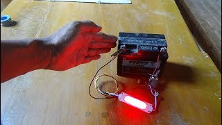 How to make Automatik ON/OFF Light Switch at a cost of $ 2.