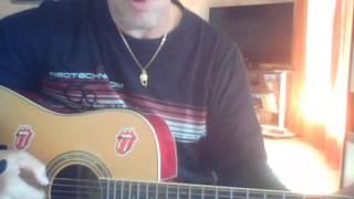 michel sardou je viens du sud guitar cover