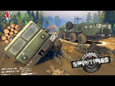 "Spintires | PC | 9/12/14 | ""The Coast"" w/NGG Crew! - BJ's PoV"