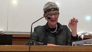 2019.10.14 Ann Lauterbach, Lecture on John Ashbery's Self Portrait in a Convex Mirror, Sorbonne U.