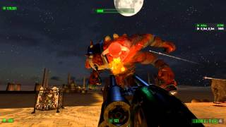 G.O. Plays Serious Sam HD The First Encounter (W/ Askee) Ending Boss