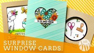 Surprise Window Cards