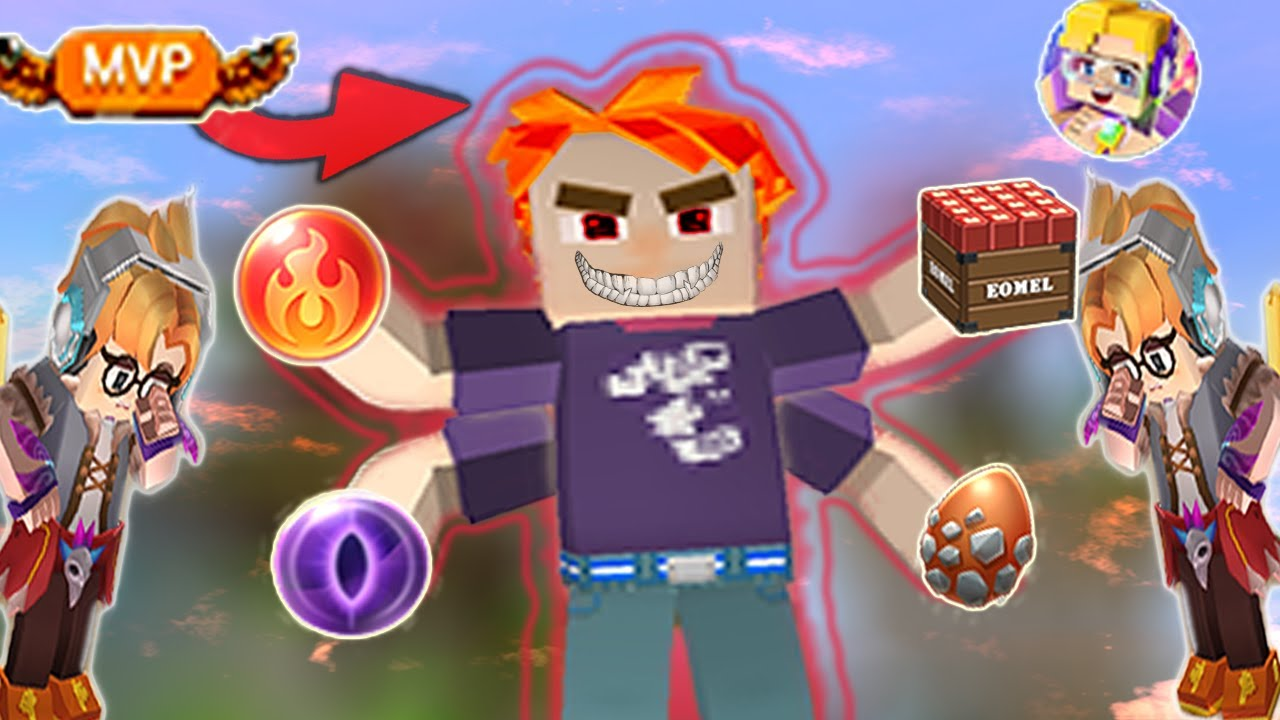 Giving MVP Items To NOOBS In BED WARS | Blockman Go Gameplay (Android , iOS)