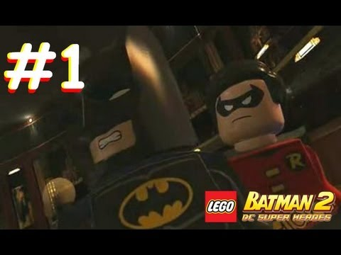 Lego Batman 2 Dc Super Heroes Part 1 Gotham Theater 3ds Youtube