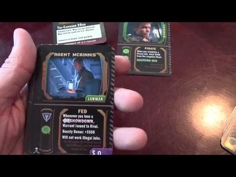 Matt's Boardgame Review Episode 9: Firefly, the game (Pirates and Bounty Hunters)