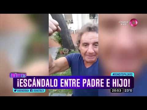Los Caniggia: ¡Escándalo entre padre e hijo!