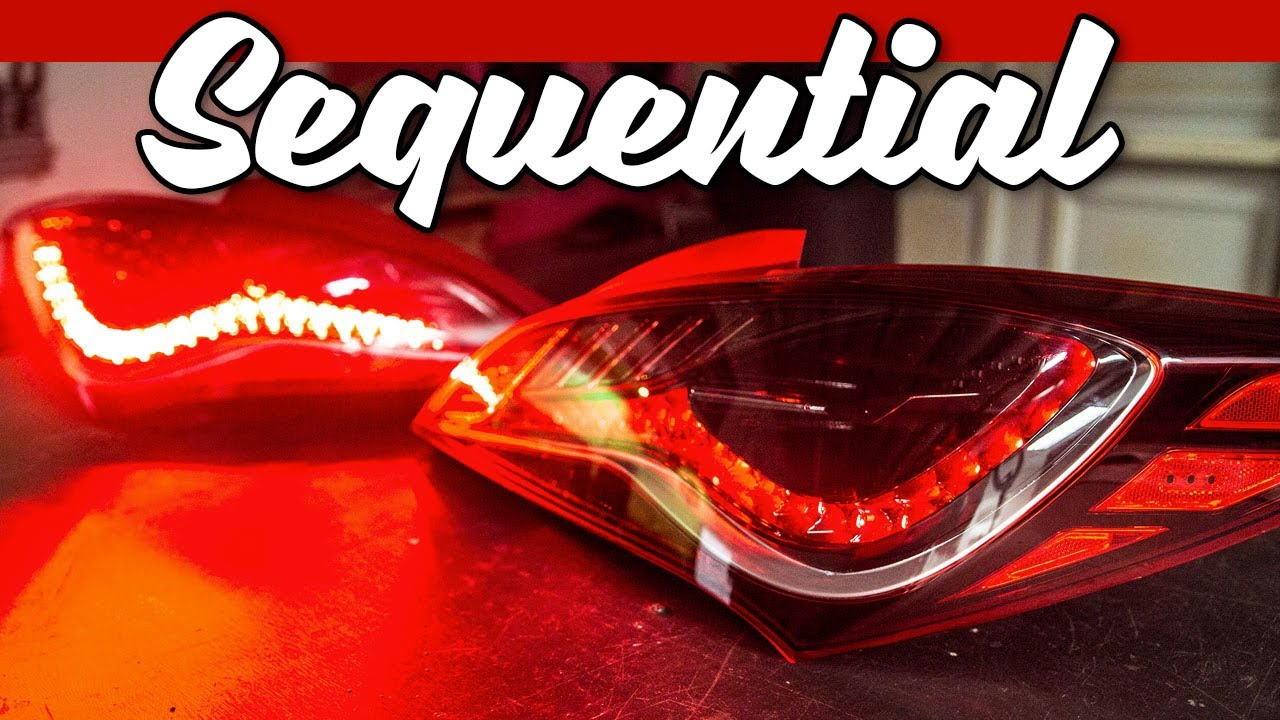 Building Sequential Tail Lights in 5 Minutes   Vlogmas 2019