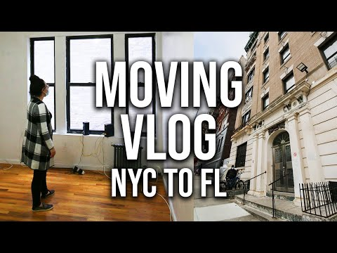 Moving Vlog (NYC to Tampa, Florida)