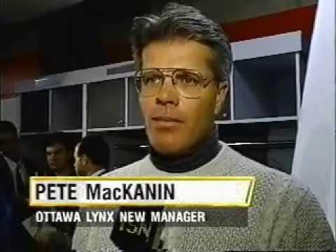Pete Mackanin Named Ottawa Lynx Manager (1995)