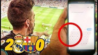 ROMPO LA PANTALLA DEL MÓVIL | Real Madrid 2-0 Barcelona SUPERCOPA
