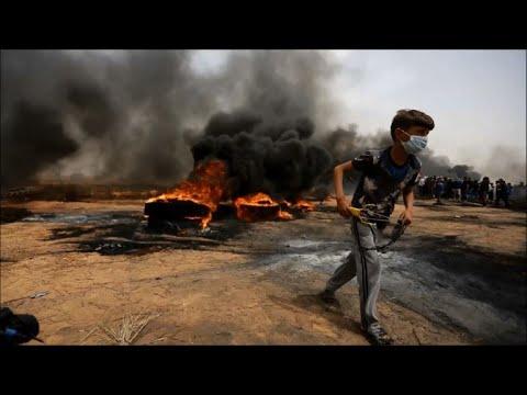 مقتل اربعة فلسطينيين برصاص الجيش الاسرائيلي في قطاع غزة