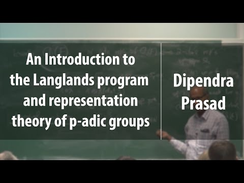 An Introduction to the Langlands program and representation theory of p-adic groups