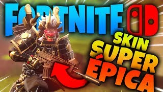 This is FORTNITE's most EPIC SKIN on Nintendo SWITCH 😱 LIVE SHOGUN