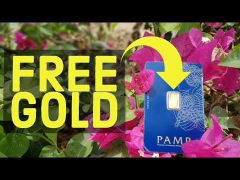 How To Get Free Gold Bar? Real 24k Gold Bar Completely Free
