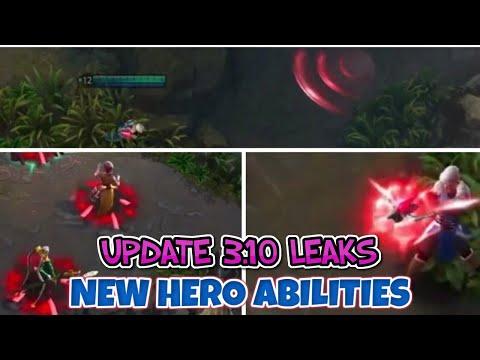 3.10 NEW HERO AND ABILITIES + NEW SKINS - VAINGLORY 5V5 UPDATE 3.10 SNEAK PEAKS AND LEAKS
