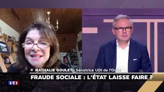 Fraude fiscale : Nathalie Goulet invitée par Eric Brunet