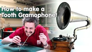 How to listen to a record with your teeth | Do Try This at Home | At-Bristol Science Centre