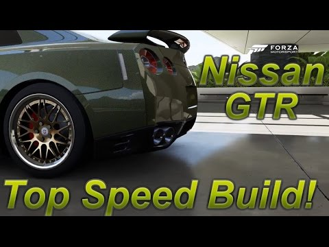 forza 6 nissan gtr top speed build 260 mph youtube. Black Bedroom Furniture Sets. Home Design Ideas