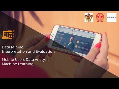 Data Mining, Interpretation And Evaluation II  - Mobile Users Data Analysis - Machine Learning