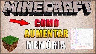 COMO AUMENTAR (ALOCAR EXPANDIR) MEMÓRIA DO MINECRAFT  Ver. 1.7.10/1.8.9/1.10.2