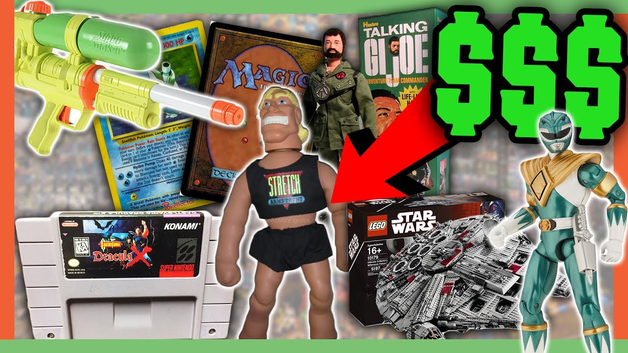 old toys worth money childhood toys worth a fortune youtube