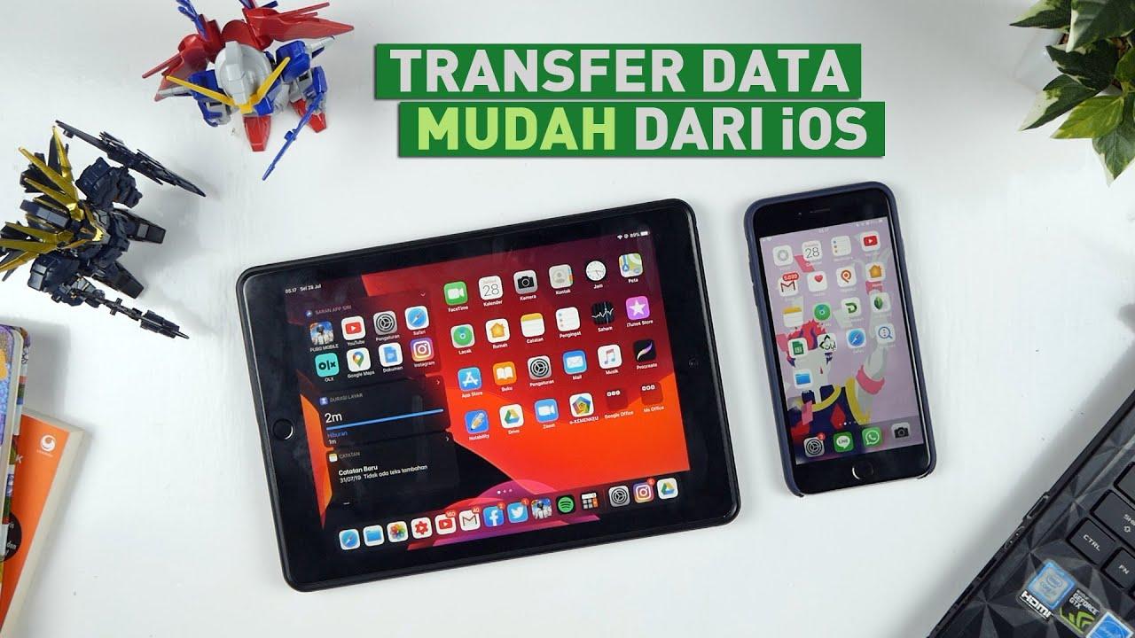 Cara Mudah Transfer Data Dari Iphone Ke Komputer Easeus Mobimover Youtube