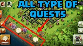 "4 types of ""Quest"" coming into the CLASH OF CLANS 