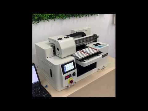 FUNSUN A4 Size UV Printer--Directly Print All Materials And Flatbed