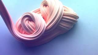 Как сделать флаффи слайм 😍How to make a fluffy slime?