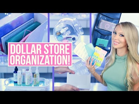 Dollar Store Organization Ideas!