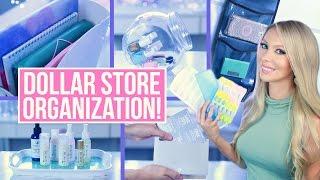 Dollar Store Organization Ideas!