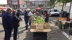Déconfinement : reprise du marché à Lisieux