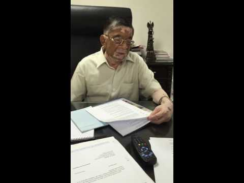 Uday India Interview with Union Textile Minister Santosh Gangwar