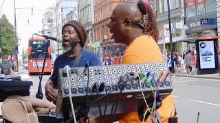 Soca Music Oxford Street London Buskers
