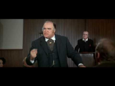 David Huddleston's speech from Blazing Saddles