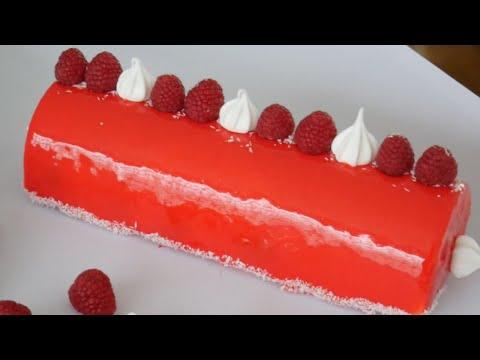 recette-bûche-de-noël-:-fruits-rouges-vanille-chocolat-blanc