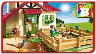 Playmobil Country 6811  Casa padurarului cu animale domestice unboxing si review  Bogdan`s Show