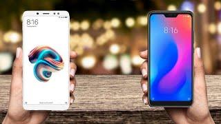Xiaomi Redmi Note 5 Pro VS Xiaomi Mi A2
